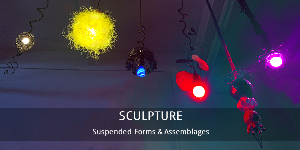 sculpture and assemblage