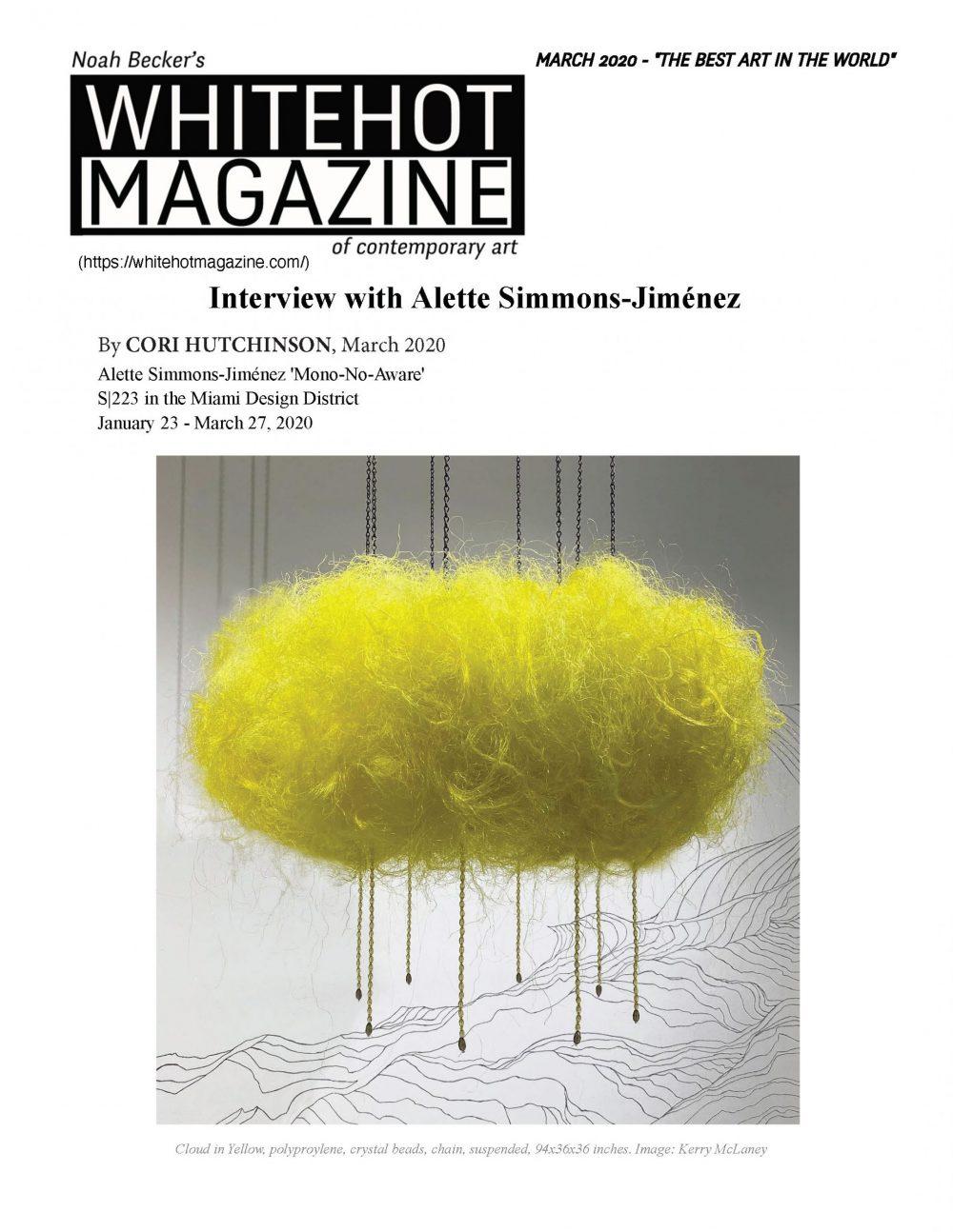 whitehot magazine article